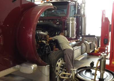 Service Division Maintenance being performed