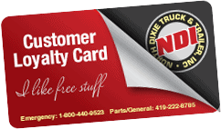 NDI Loyalty Card