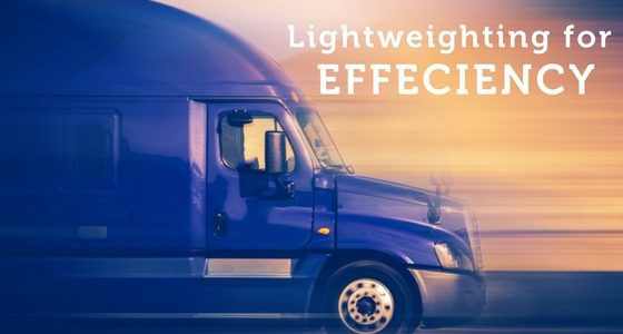 Lightweighting