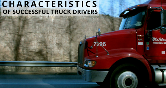 Characteristics of Successful Truck Drivers