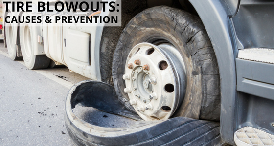 Tire Blowouts: Causes and Prevention